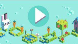 Coding for Carrotses el primero de los 10 lanzamientos que Google hará de sus juegos y minijuegos más populares en los próximos días, su pequeña contribución para enfrentar el encierro durante esta emergencia sanitaria.
