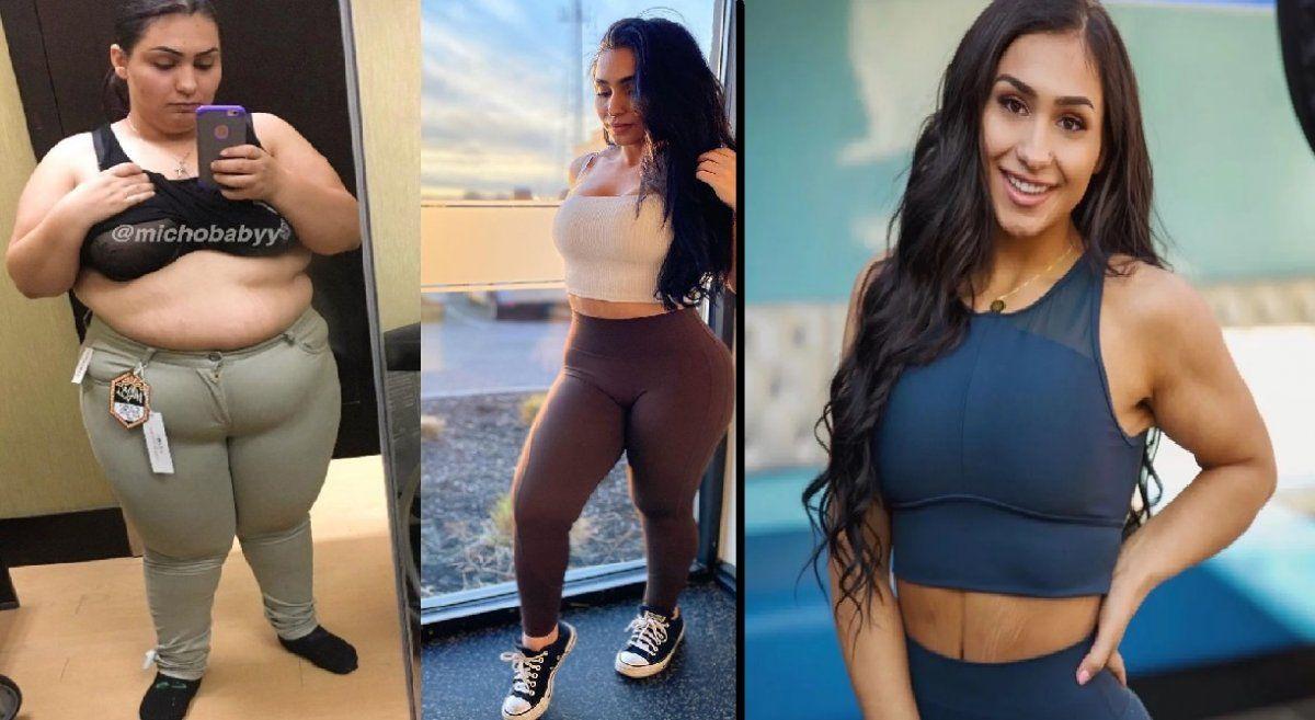 La increíble transformación de una influencer con obesidad mórbida