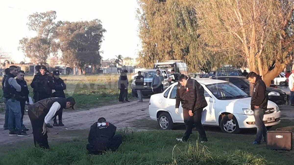El cuerpo del miembro de la policía de Santa Fe fue acribillado a balazos en Neuquén al 6400.