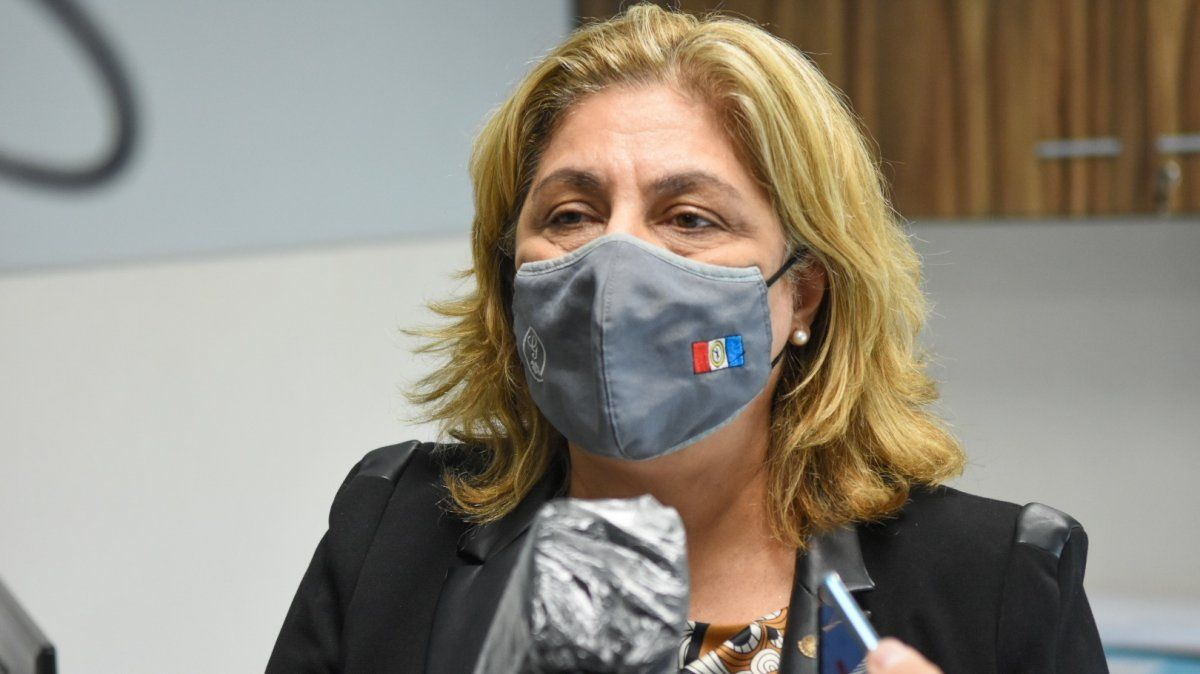 La ministra de Salud de la provincia de Santa Fe