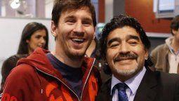 El zurdo jugador del Barcelona de España posteó una foto con Maradona, quien lo dirigió en la Selección Argentina en el Mundial de Sudáfrica 2010. Me quedo con todos los momentos lindos vividos con él y quería aprovechar para enviarle el pésame a toda su familia y amigos, afirmó.