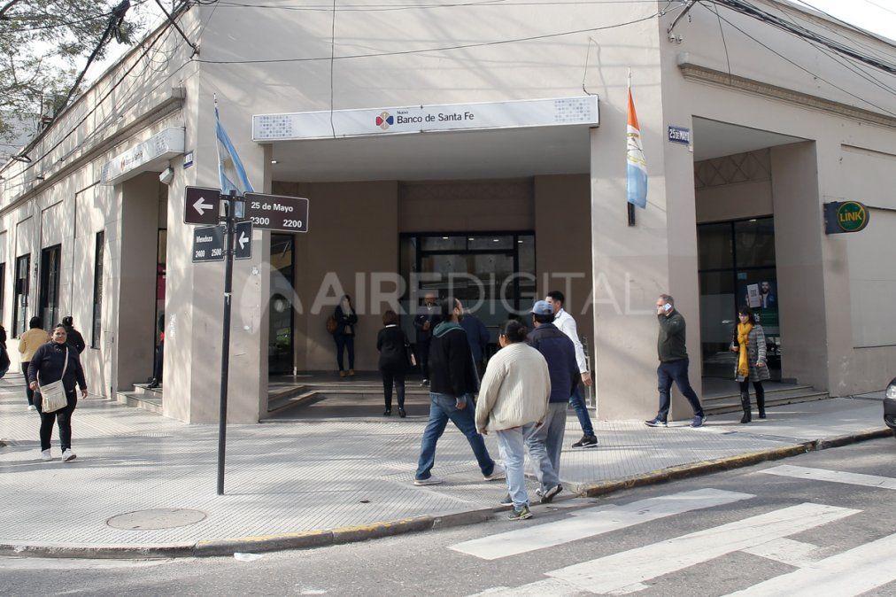 No habrá actividad bancaria el próximo miércoles en la ciudad.