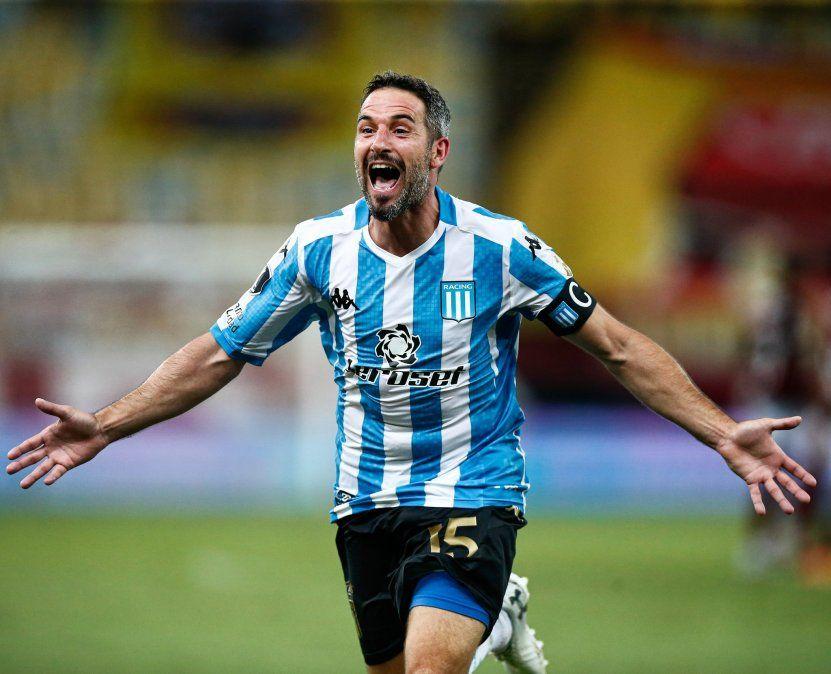Racing voló alto en Brasil y se mete en los Cuartos de Final de la Copa Libertadores.