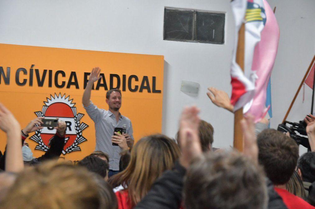 Juan Ignacio Pellegrini es el primer candidato a concejal en la lista del oficialismo