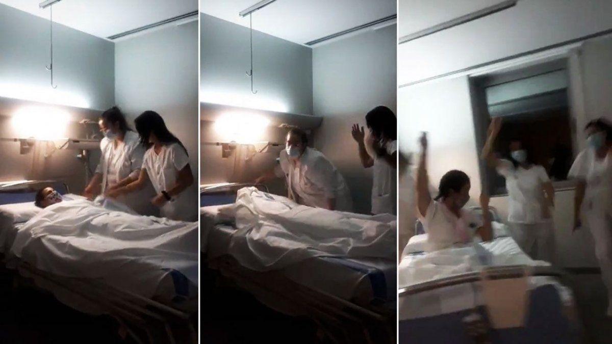 Indignación por una coreografía de enfermeras en TikTok: Se burlan de los muertos