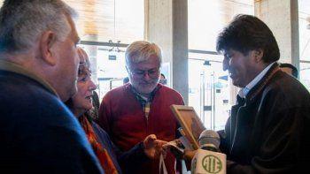 ATE saluda a Arce y Evo morales, tras las elecciones en Bolivia