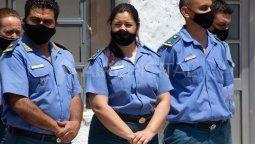 El ministro de Gobierno, Justicia, Derechos Humanos y Diversidad, Esteban Borgonovo, puso en funciones este miércoles a la nueva directora de la Unidad Penitenciara de Las Flores, Natalia Castillo, la primera mujer al mando de la alcaldía.