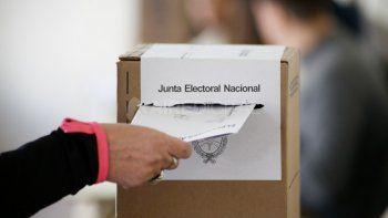 Elecciones 2021: proponen que se vote en todo el país con la boleta única