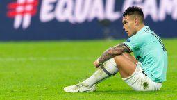 La transferencia de Lautaro Martínez al Barcelona está stand-by, aunque no hay que darla por caída, según aseguró el presidente del Culé, Josep Bartomeu.