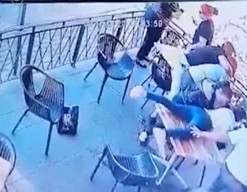 El dramático momento en que intentan secuestrar a una niña de 4 años