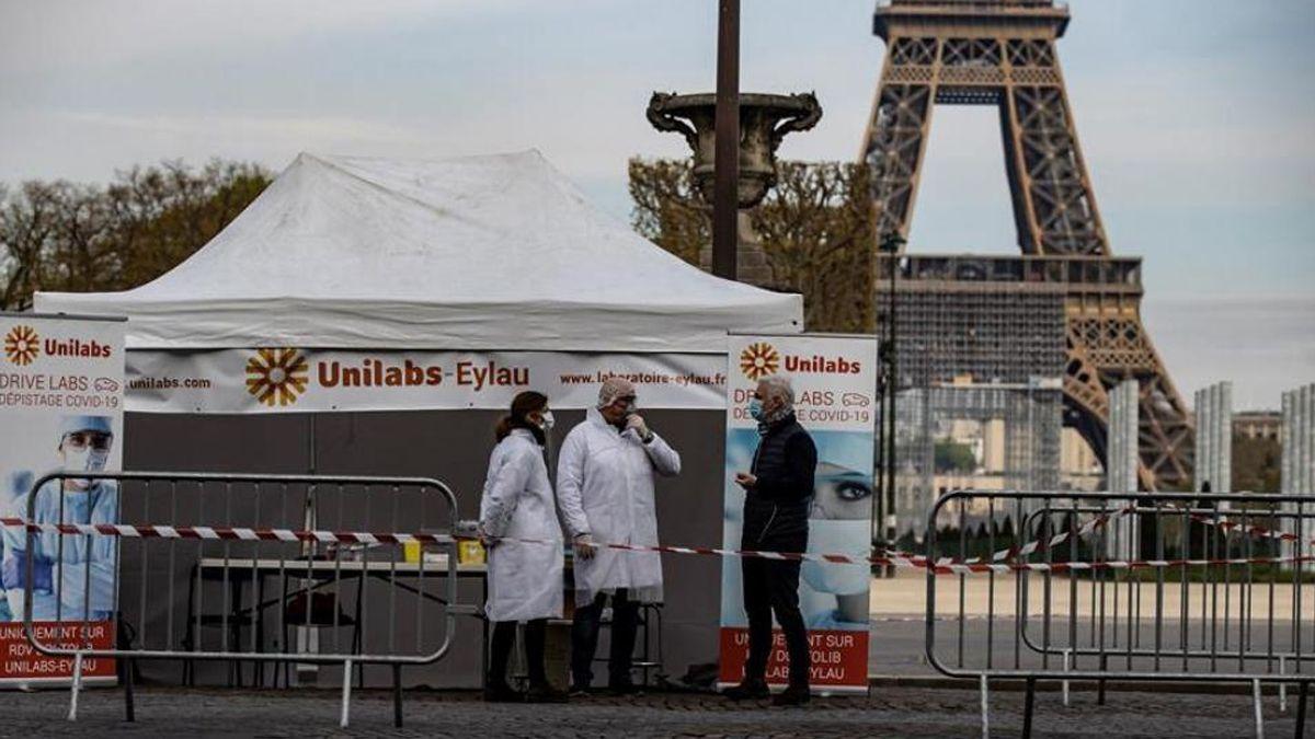 Francia: por primera vez desde los testeos masivos, el país superó los 30.000 casos diarios de coronavirus