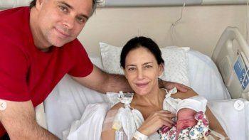 Luciana Aymar fue mamá por segunda vez