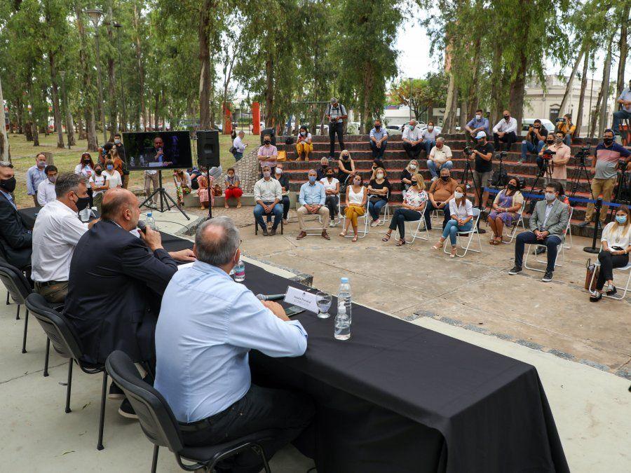Se conocieron las ofertas para la construcción del Centro Artístico Metropolitano en Rafaela