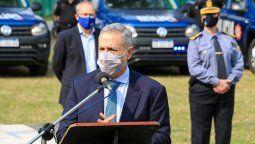 El gobierno de la provincia, a través del ministro de Seguridad, Marcelo Sain, presentó virtualmente la Estrategia de Seguridad Preventiva para Centros Urbanos.