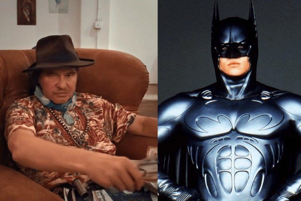 Val Kilmer reveló el horror que vivió grabando Batman Forever en un documental.