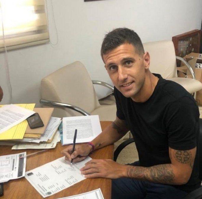 Ahora sí, Colón hizo oficial el arribo de Bruno Bianchi