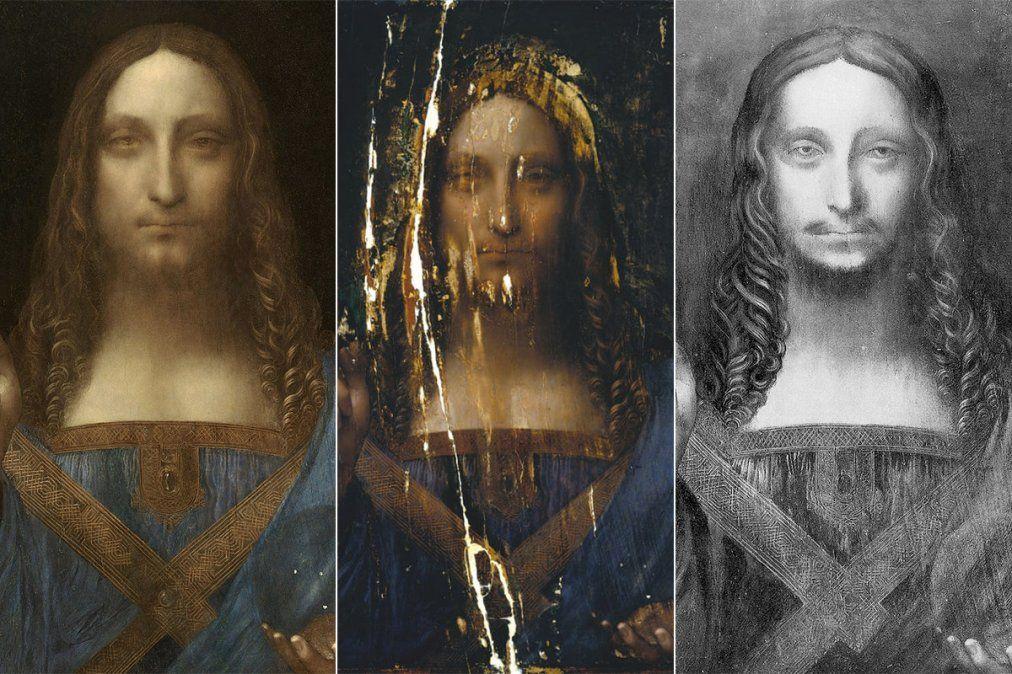 El cuadro más caro del mundo no habría sido pintado por Da Vinci