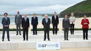 El G7 se compromete a donar vacunas contra el covid
