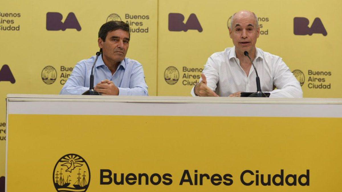 Las denuncias sobre presuntas irregularidades en la realización de la campaña vacunatoria en la CABA apuntan contra Rodríguez Larreta y Quirós.