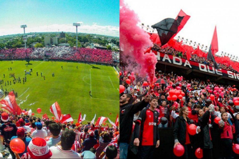 Los hinchas de Unión y Colón esperan los detalles del regreso del público a los estadios.