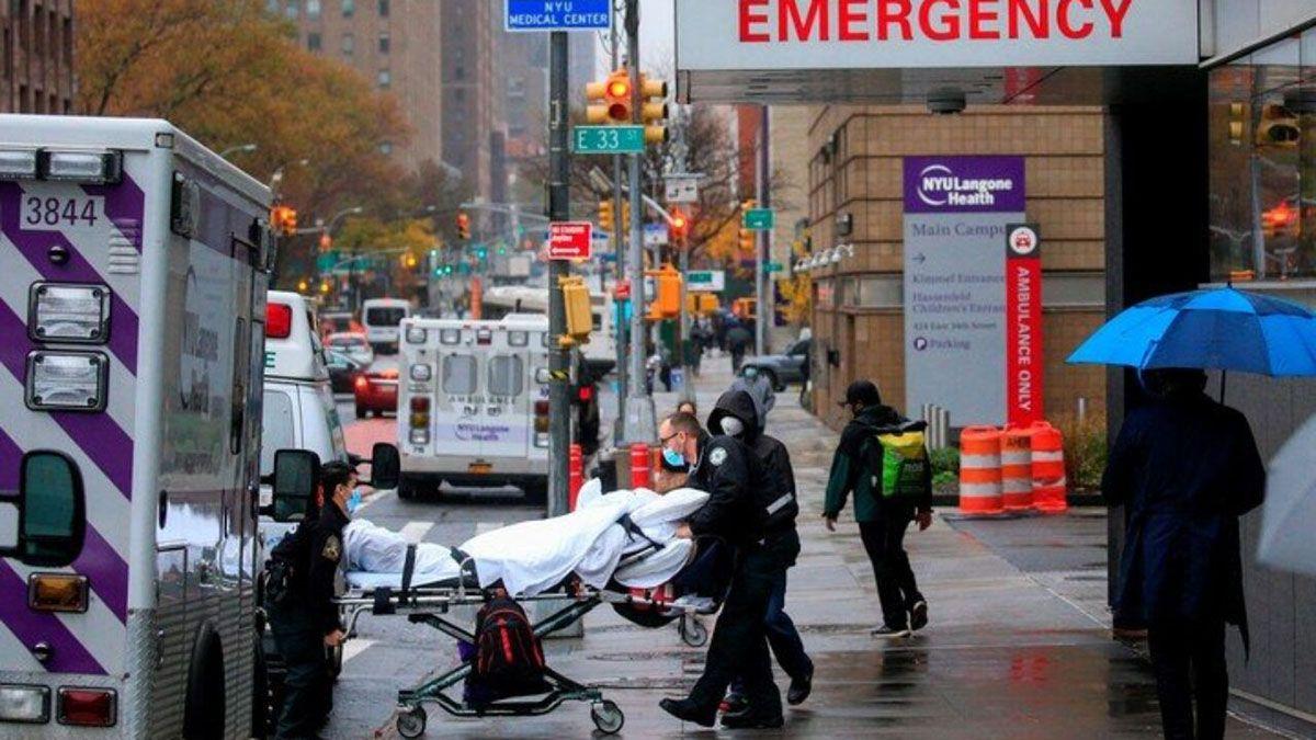 Estados Unidos superó los 12 millones de casos de coronavirus y suma ya más de 255.000 muertes.