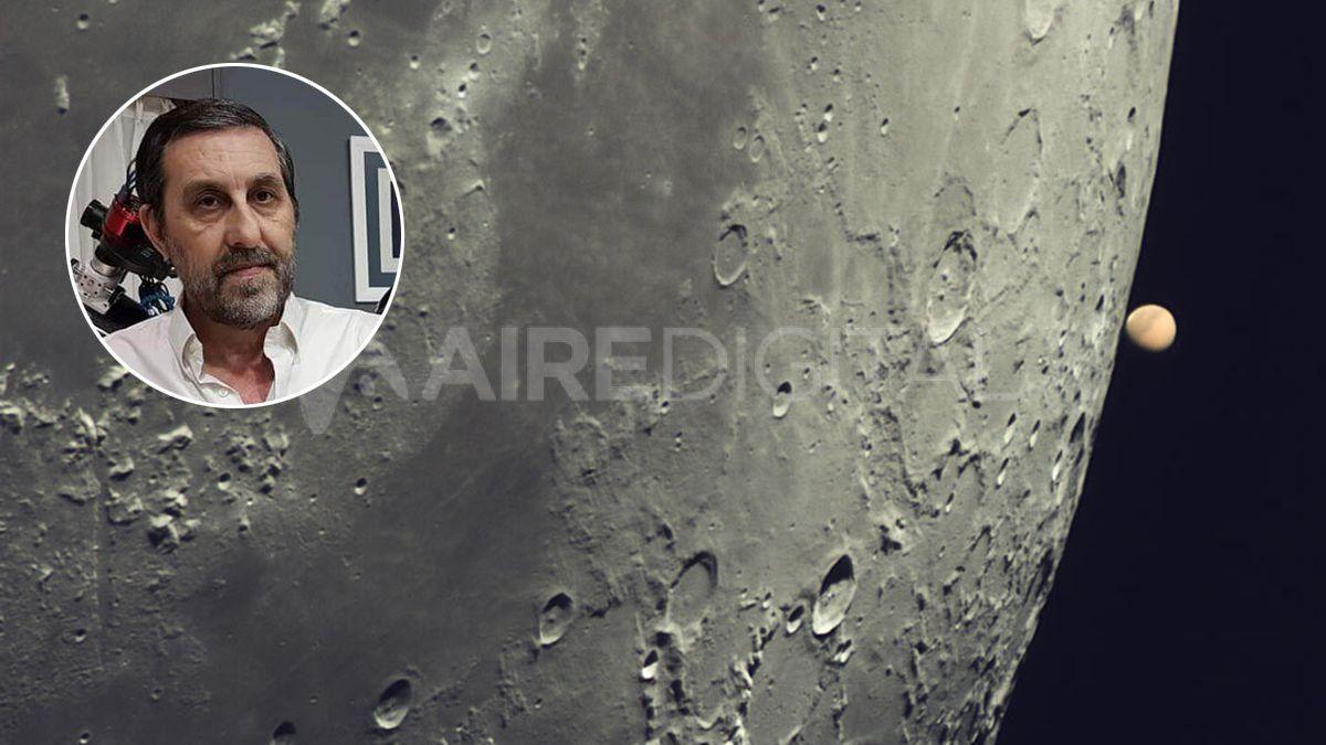 La Nasa reconoció al astrofotógrafo cordobés