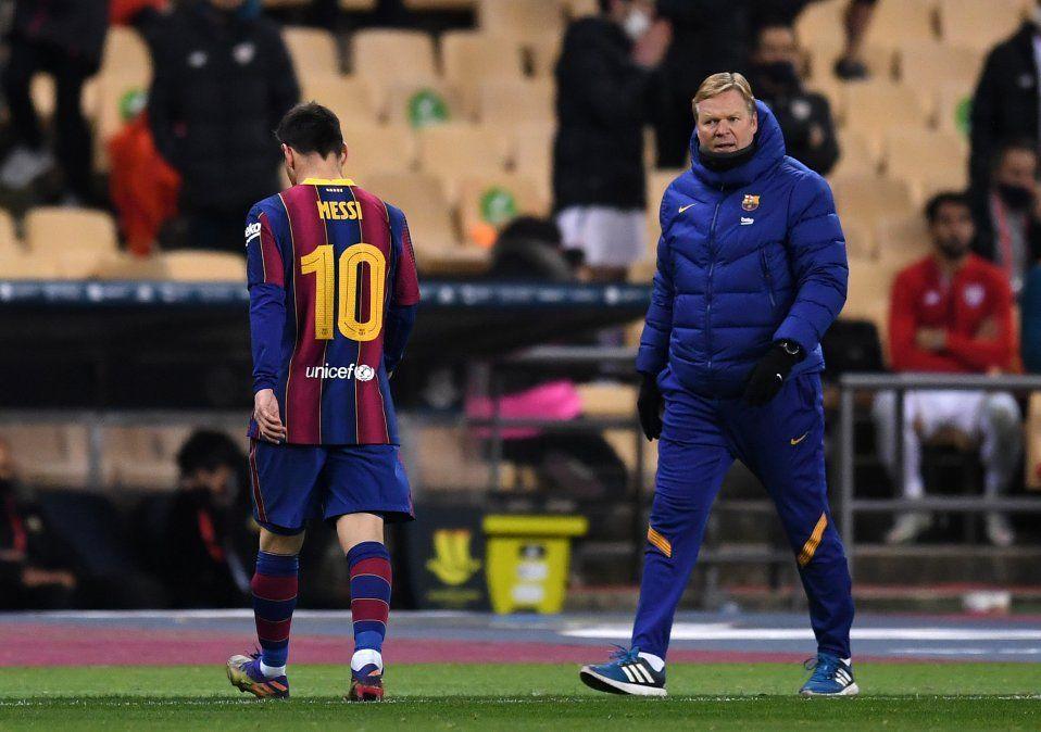 Lionel Messi recibió dos fechas de suspensión por la expulsión que sufrió ante el Athleitc Club de Bilbao en la Supercopa de España.