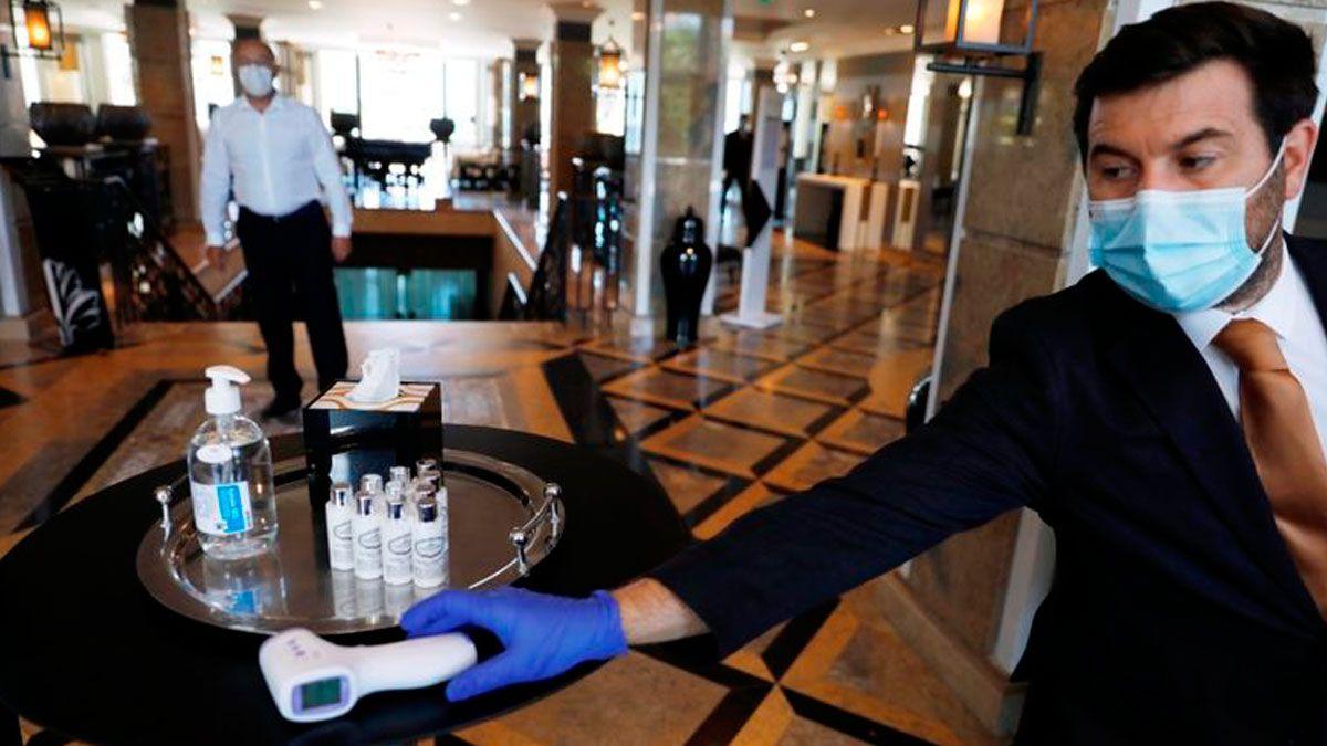Desde el sector hotelero aseguran que el objetivo es evitar la concentración de gente y que habrá elementos de higiene en todos los espacios.
