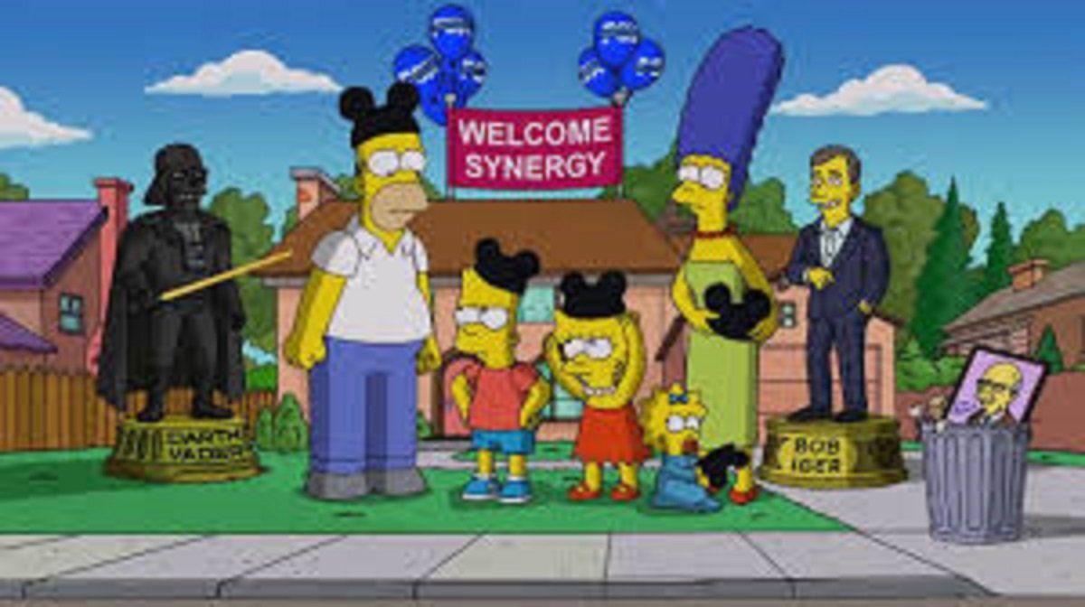 Los Simpson predijeron que Fox sería comprada por Disney.
