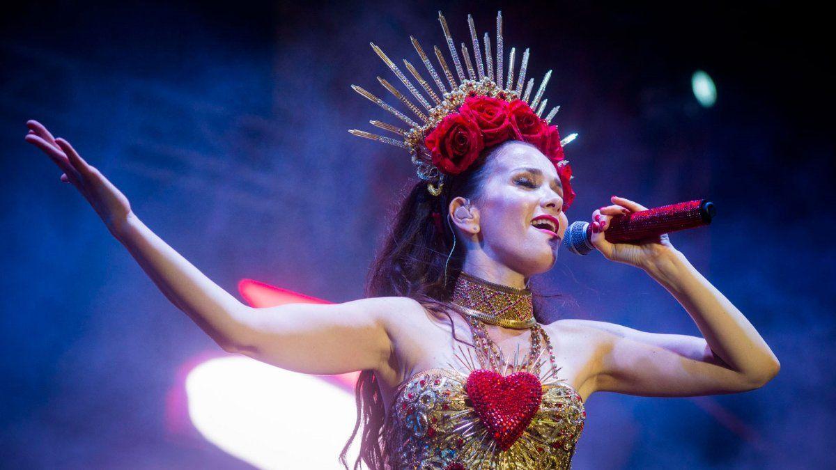 Natalia Oreiro: así bailaba cuando estaba embarazada