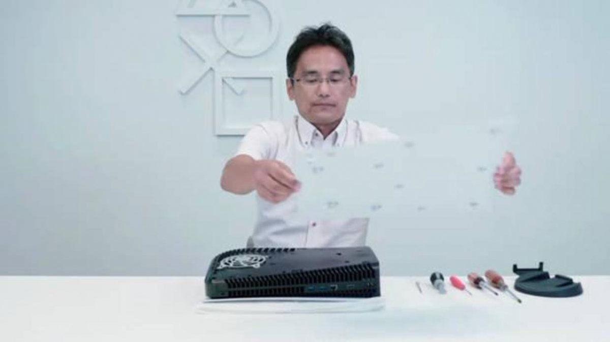 Los ingenieros encargados del diseño de la Playstation 5 argumentaron la decisión de colocar un ventilador gigante a la consola.