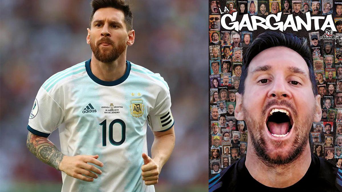 Lionel Messi es la portada de la revista número 100 de La Garganta Poderosa.