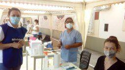 """En relación a la convocatoria, y a la importancia de la campaña, la ministra de Salud, Sonia Martorano, precisó que """"es un llamamiento a enfermeros, auxiliares de enfermería, estudiantes de medicina, a incorporarse al programa de vacunación. Los necesitamos""""."""