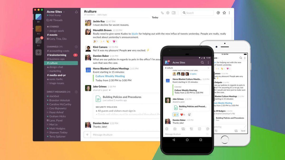 Slack: solicitan cambiar la contraseña de forma urgente a los usuarios de Android