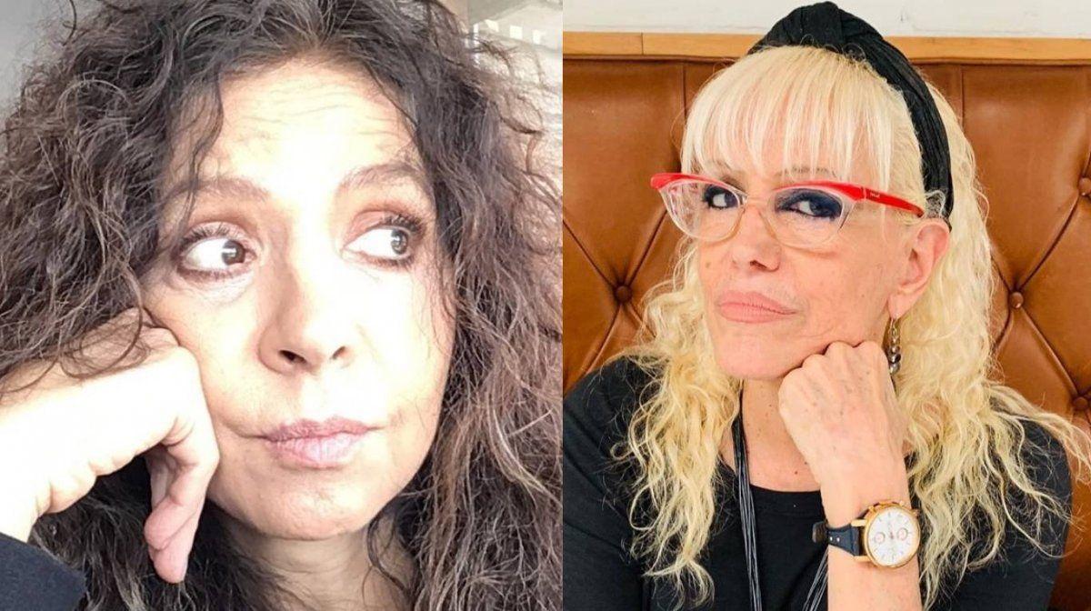 Patricia Sosa y Valeria Lynch parece que no firmarán la paz.