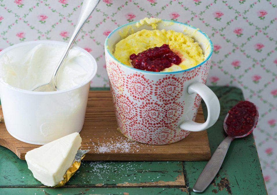 Mug cake en microondas