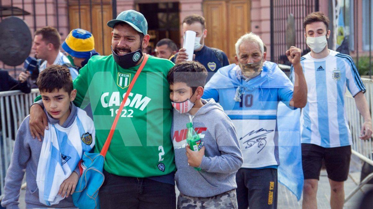 Este 26 de noviembre no hubo una sola forma de despedir a Diego Armando Maradona