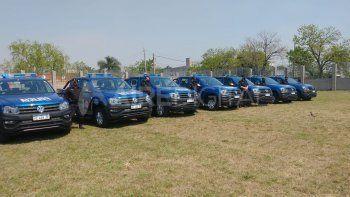 Seguridad: la Provincia presenta el equipamiento en el que invertirá los recursos de Nación