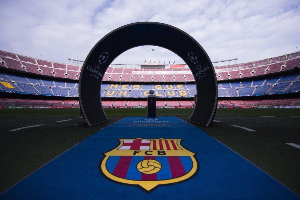 Barcelona presentó un plan para habilitar la asistencia de público en los partidos por Champions League.