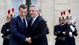 Francia lo acompañará y se movilizará con el FMI para ayudar a la Argentinaal camino del crecimiento y a una deuda sostenible, sostuvoEmmanuel Macron.