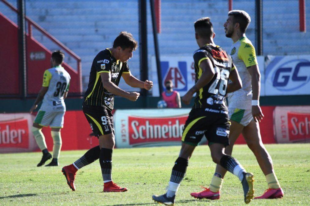 El Halcón y el Tiburón se golearon entre sí por la Copa Maradona. Finalizó 4 a 4.
