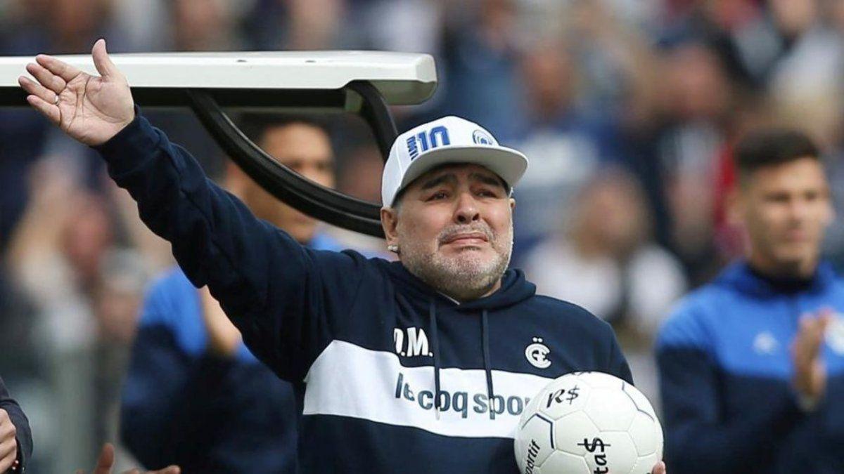 Diego Maradona recordó a Doña Tota en este Día de la Madre.