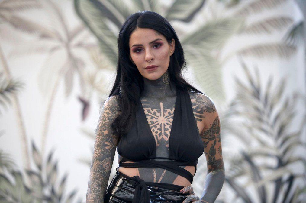 Candelaria Tinelli y su sensual disfraz que lució en redes