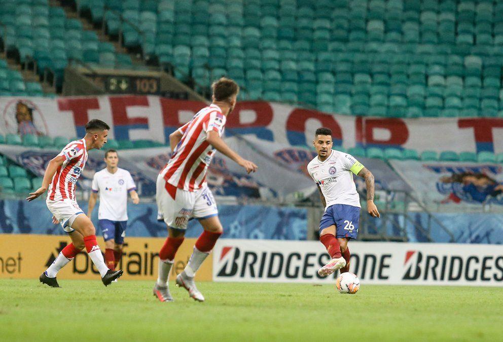 Unión cayó 1-0 en Brasil ante el Bahía en el primer duelo por los octavos de la Copa Sudamericana.