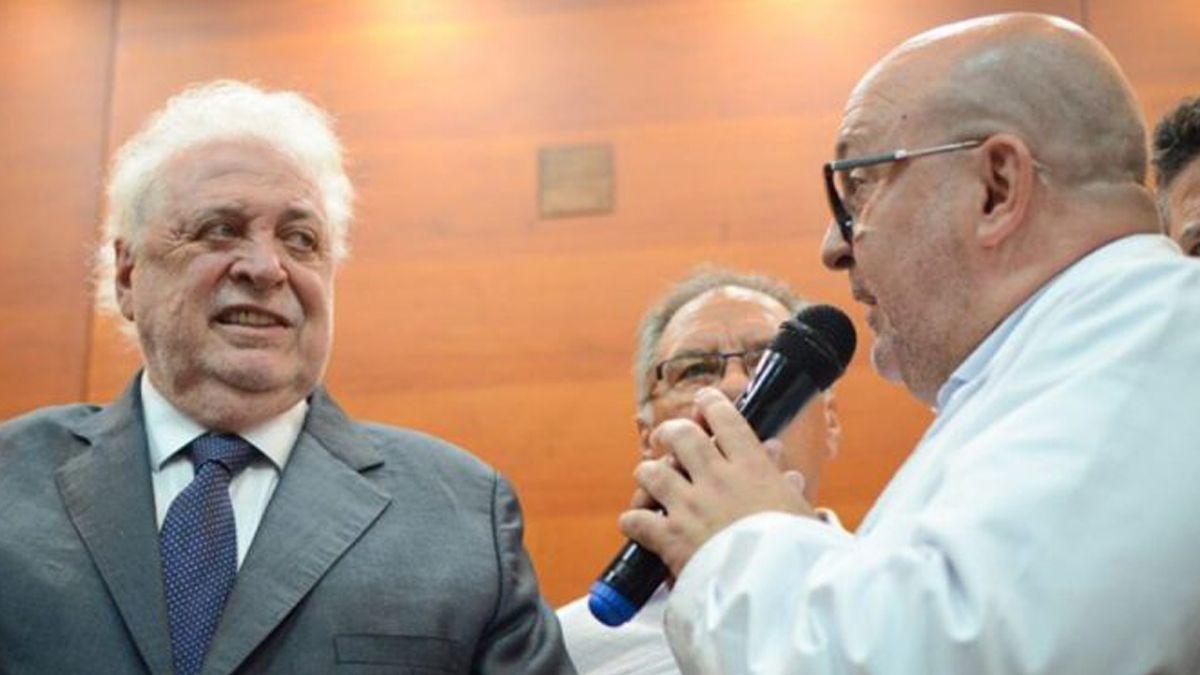 Ginés González García y Alberto Maceira.