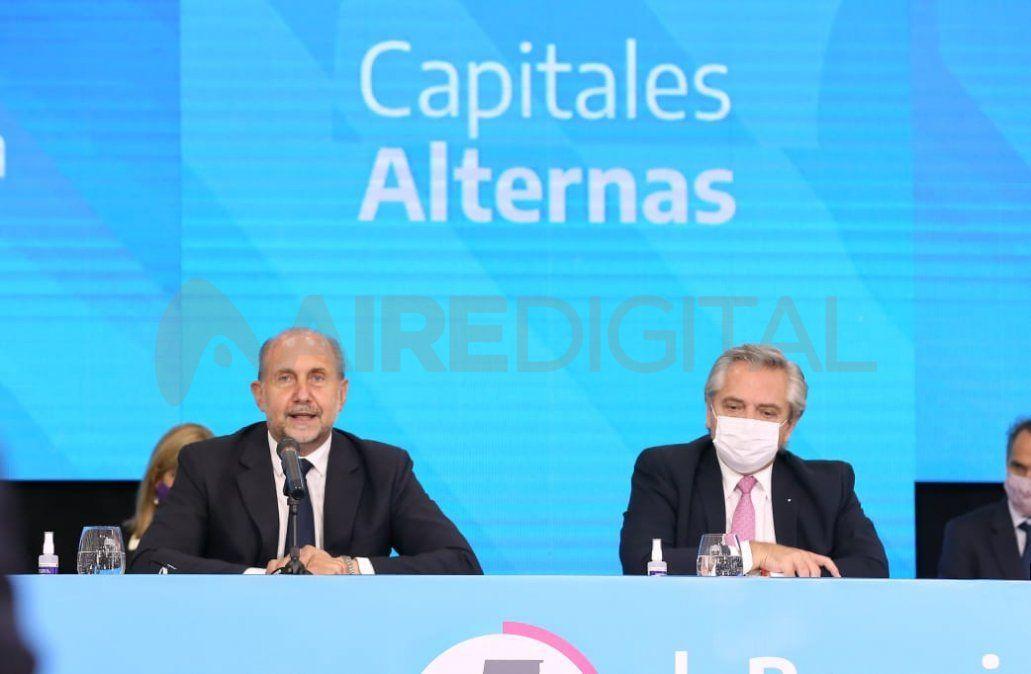 El gobernador Perotti se reunió con el presidente en Casa Rosada