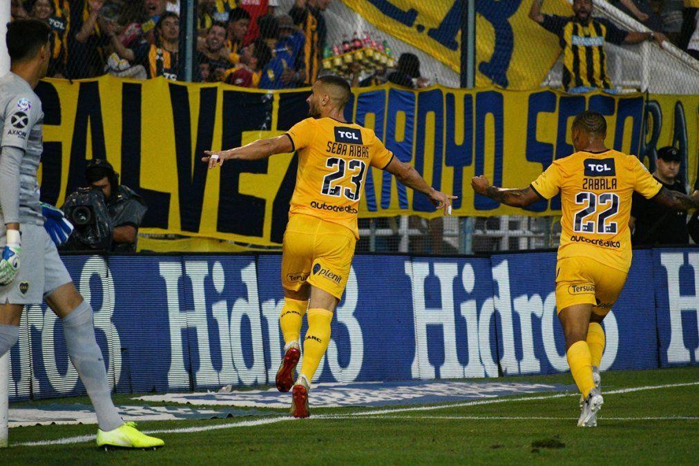 Rosario Central venció a Boca en el último partido de Alfaro