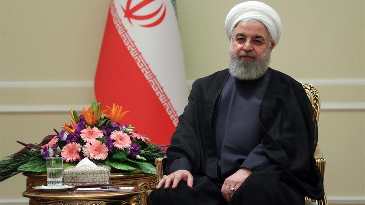 El presidente iraní