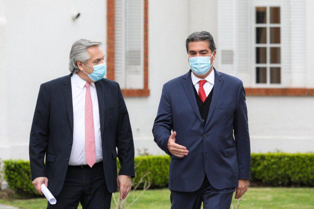 El presidenteAlberto Fernándezreafirmó este martes quela Argentina central