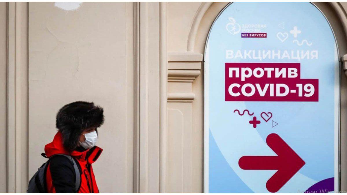 Rusia marcó un nuevo récord de muertes por coronavirus en un día: 973